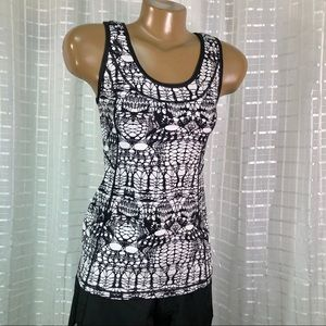Lululemon Stay on Course Tank in Glacier Lace Sz 8